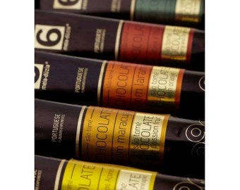 Gourmet Pack of Chocolate Jams in Paint Tubes