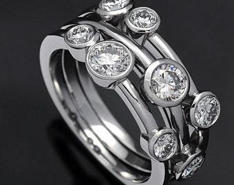 Diamond Raindance Ring