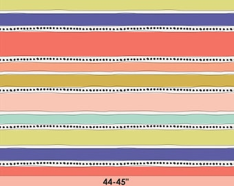 SALE Geometric Bliss - Mobius Stripe Warm - Jeni Baker - Art Gallery Fabrics (GBL-2439)