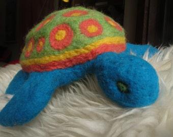 Felted Wool Sea Turtle