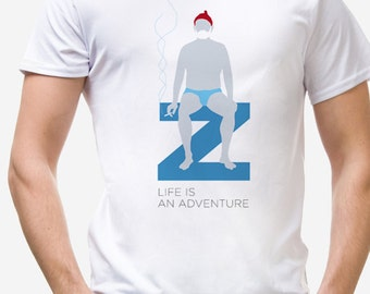 "T-Shirt ""The Life Aquatic"" -  Wes Anderson's Tribute"