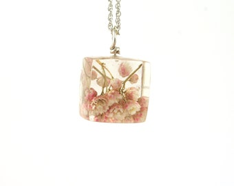 Babies Breath Pendant