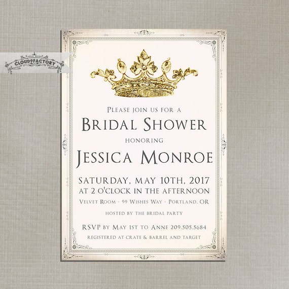Tea Party Themed Bridal Shower Invitations for adorable invitations ideas