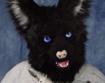 Custom:Wolf/Fox/Canine Fursuit Head