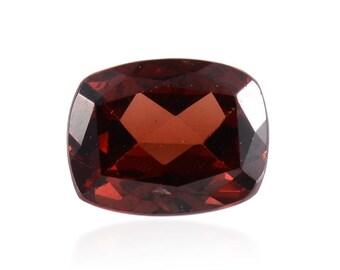 Mozambique Garnet Cushion Cut Loose Gemstone 1A Quality 9x7mm TGW 2.10 cts.