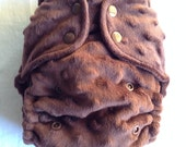 Chocolate - Fitted Cloth Diaper