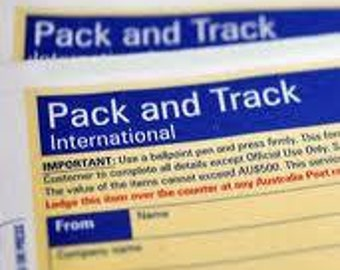 Standard Letter Merchandise-Tracking Delivery Upgrade -International Shipping