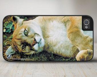 "Cougar iPhone 5 Case, Cougar iPhone 5s Case, Cougar iPhone Case Protective Cougar Phone Case ""The Good Life"" 50-3104"