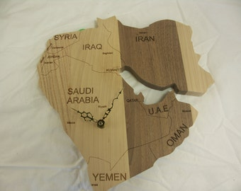 Middle East wall clock