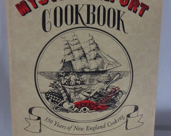 Mystic Seaport Cookbook, New England Cooking By Lillian Christensen, Historic Cookbook
