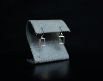 The 1975 Inspired Dangle Rectangle Earrings