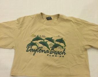 Vintage 1985 Daytona Beach Florida Half Shirt