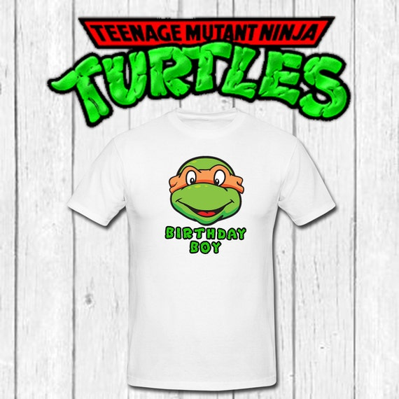 Teenage Mutant Ninja Turtle Iron On T Shirt By