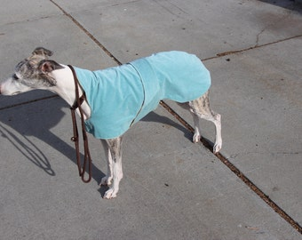 Cotton Velour cotton inner summer coat whippet Large.