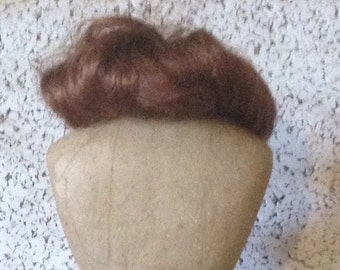Lovely Red Doll Wig Bobbed Style