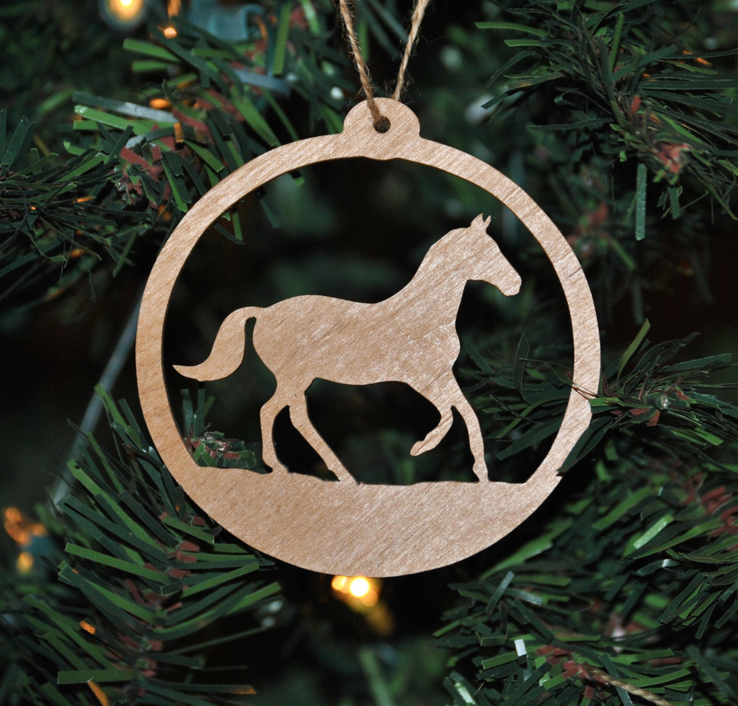 Christmas Tree Ornaments Horse: Horse Christmas Tree Ornament