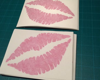 Lips and Lipstick Vinyl Decal by SickAssStickers