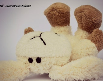 MEEP is a HANDSEWN plush sheep :)