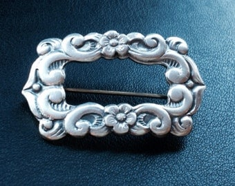 Vintage David Andersen sterling silver buckle Pin