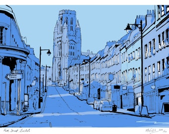Park Street, Bristol - Limited Edition Contemporary Giclée Print