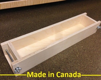 5 to 6 Lb. Wood Soap Mold (Made in Canada)