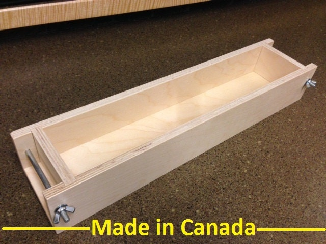 5 To 6 Lb. Wood Soap Mold Made In Canada