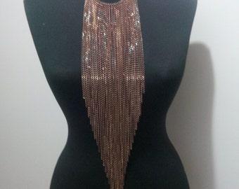 Necklace, Body Chain,copper necklace,copper body chain