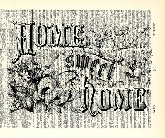 Home Sweet Home Vintage