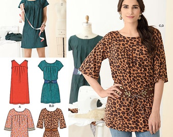 Simplicity Sewing Pattern 2147 Learn to Sew Misses' Dresses