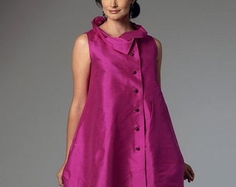 Butterick Sewing Pattern B6138 Misses' Asymmetrical Vest or Top