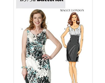 Butterick Sewing Pattern B5752 Misses' Dress