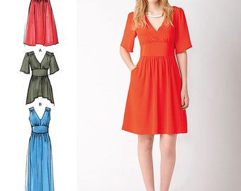 Misses' Dresses Cynthia Rowley Collection Simplicity Pattern 1801