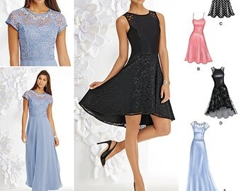 Simplicity Sewing Pattern 1195 Misses and Miss Petite Special Occasion Dress