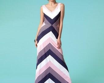 McCall's Sewing Pattern M7121 Misses' V-Neckline Dresses