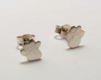 Silver Pud earrings