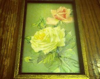 Framed Rose Cut Out
