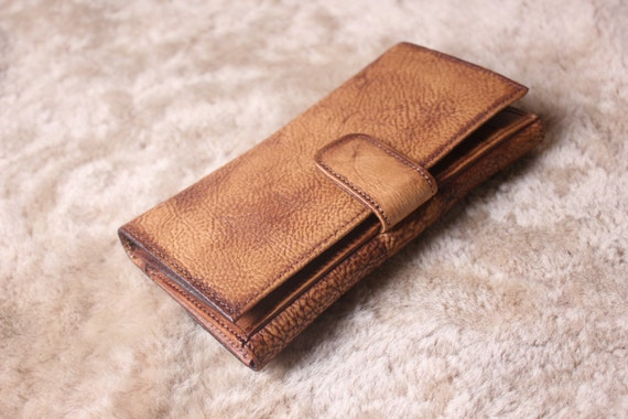 Leather Wallet Women Vintage Wallet Handmade Wallet Leather