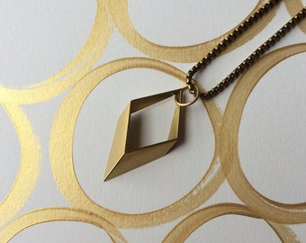 Modern Geometry Necklace