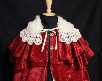 Items Similar To Christmas Bonnet For Mrs Claus Or