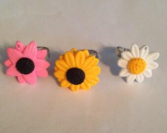 Cool Flower Rings!