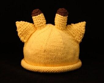 Newborn - Giraffe - knit baby hat - baby knit hat  - baby hat knit - knit hat - baby photo prop