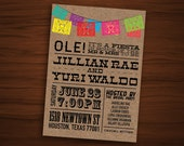 Fiesta Engagement Invite