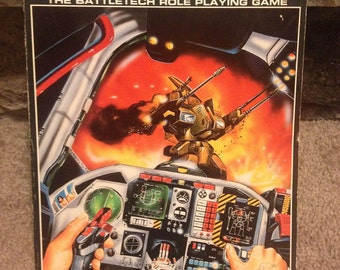 Mechwarrior the Battletech Role Playing Game, RPG book, 1986