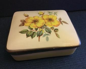Floral Italian Cigarette Box