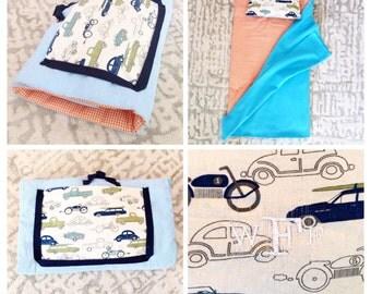 Preschool Nap Mat : Vintage Cars