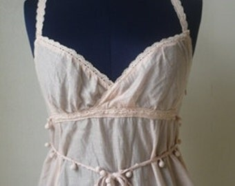Sisley summer dress/ Spaghetti Strap/ Small size.