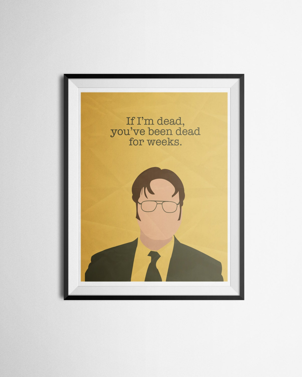 posters for the office. Dwight Schrute Quote Poster The Office Print Posters For