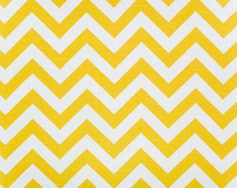 "Premier Prints Zig Zag Chevron Fabric Corn Yellow Slub or choose from 9 colors 54"" Fabric By The Yard 100% cotton Fast Shipping"
