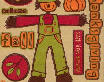 Reminisce SHADES OF AUTUMN Thanksgiving Die-Cut Stickers
