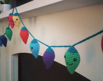 Crochet Fairy Lights